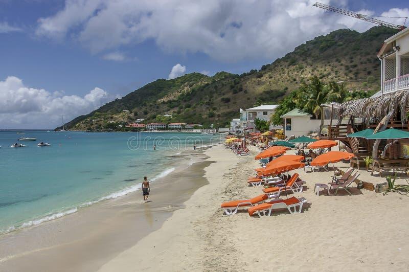 Playa de San Martín imagen de archivo libre de regalías
