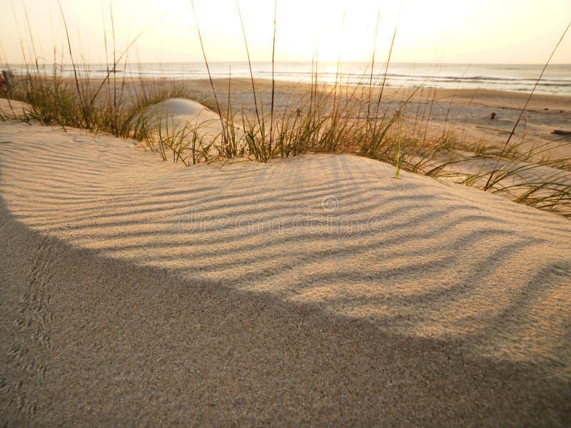 Playa de Sandy. imagenes de archivo