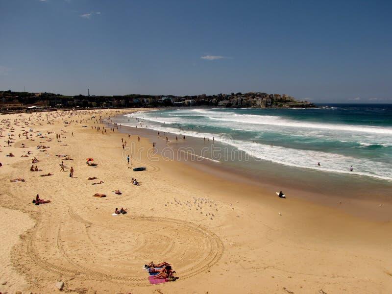Playa de Sandy Bondi imagen de archivo libre de regalías