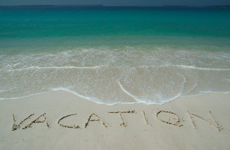 Playa de Sandy tropical con   foto de archivo