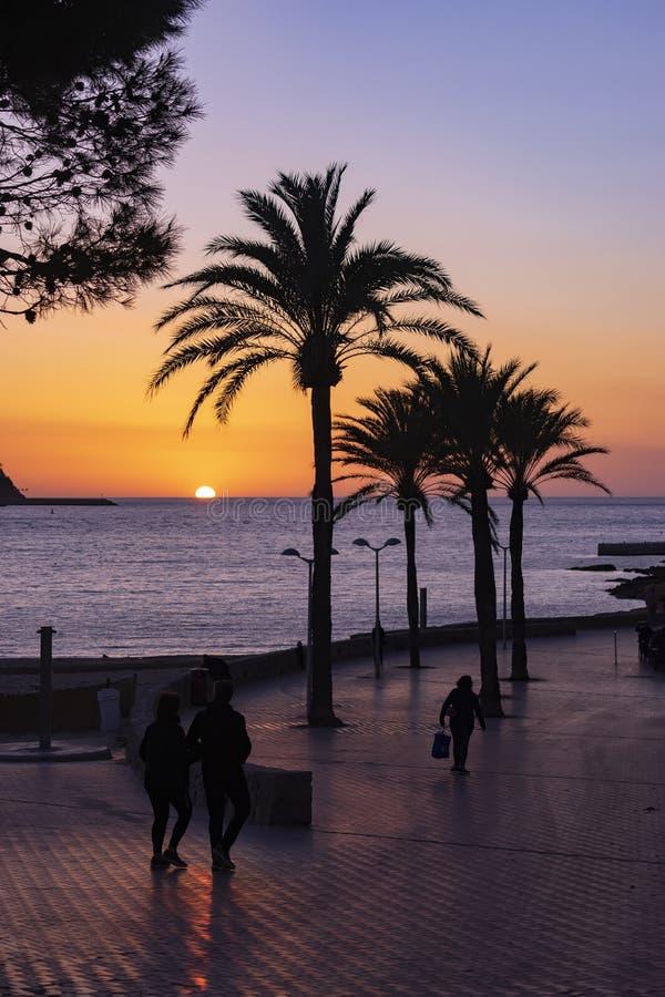 Playa de Santa Ponsa fotos de archivo libres de regalías