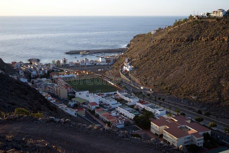 Playa de Santiago. On the La Gomera island, Spain royalty free stock photos
