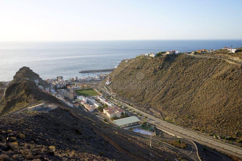 Playa de Santiago. On the La Gomera island, Spain stock photo