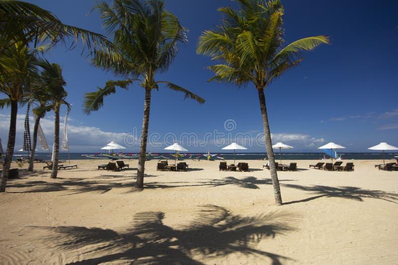 Playa de Sanur, Bali imagen de archivo libre de regalías