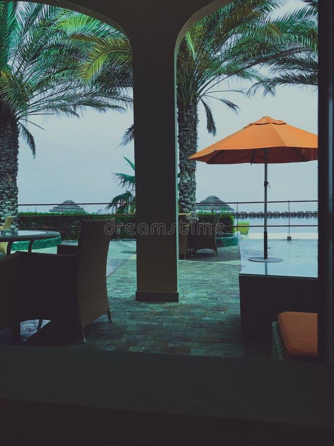 Playa de Sharja imagenes de archivo