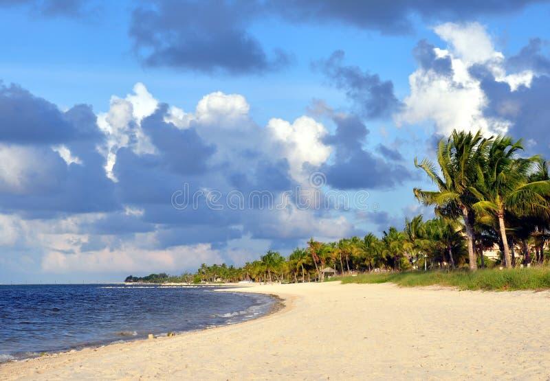 Playa de Smathers foto de archivo libre de regalías