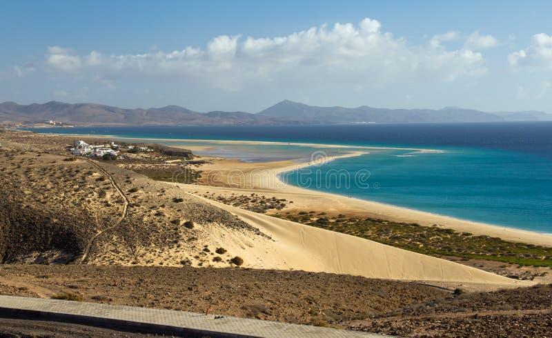 Playa de Sotavento royalty free stock photography