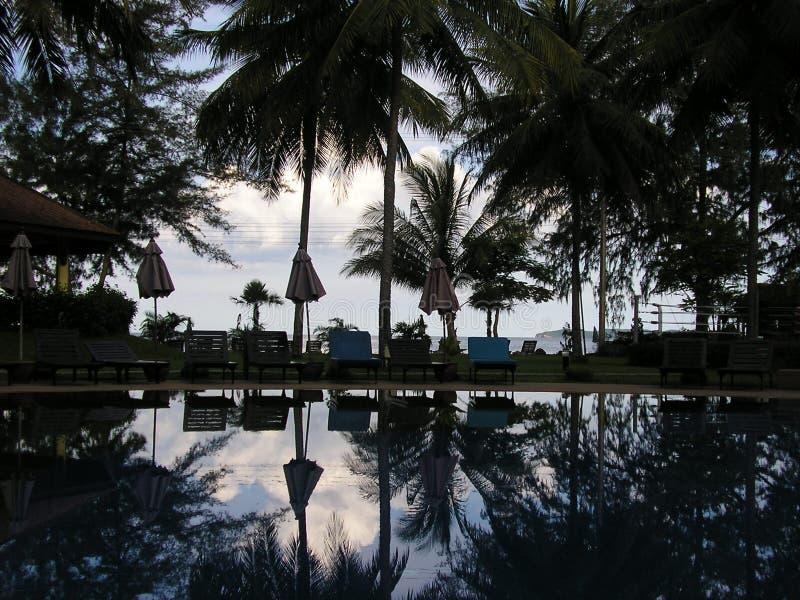 Playa de Suanluang - Thaïlande imagen de archivo libre de regalías