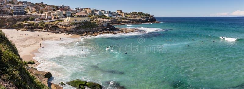 Playa de Tamarama, que el IS-IS localizó 7 kilómetros al este del Syd imagen de archivo libre de regalías