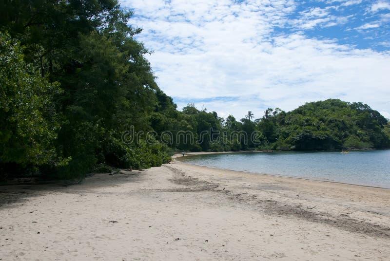 Playa de Tangua foto de archivo libre de regalías