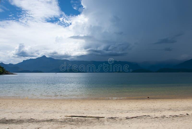 Playa de Tangua, el Brasil. imágenes de archivo libres de regalías