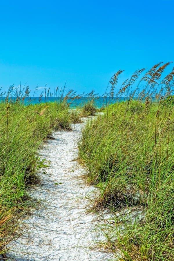 Playa de Tigertail en Marco Island imagenes de archivo