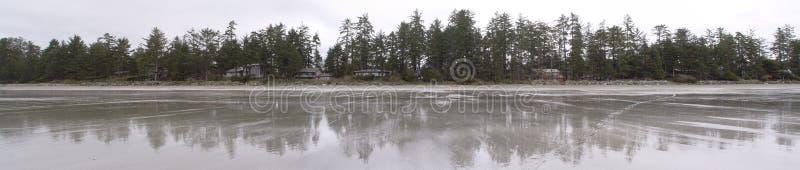 Playa de Tofino imagen de archivo
