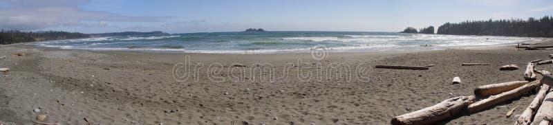 Playa de Tofino foto de archivo