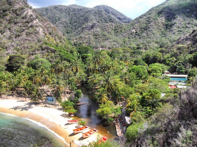 Playa de Tuja imagen de archivo