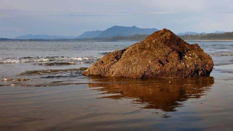 Playa de Ucluelet imágenes de archivo libres de regalías