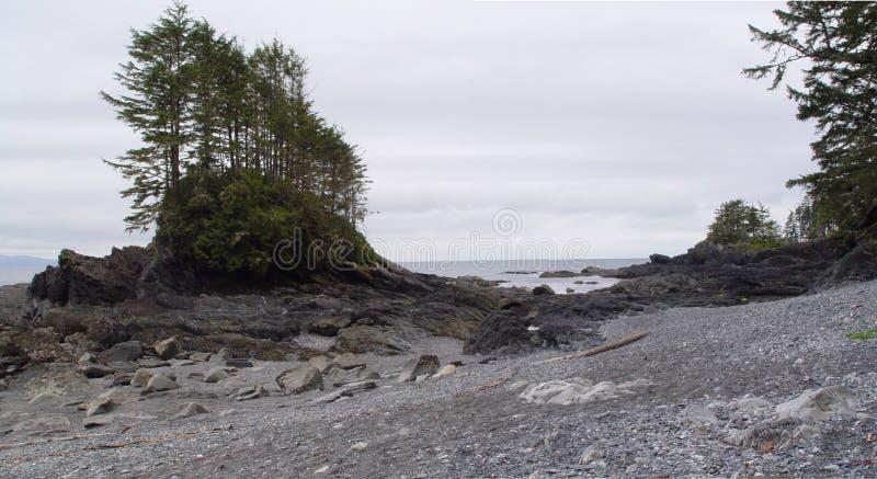 Playa de Ucluelet imagenes de archivo