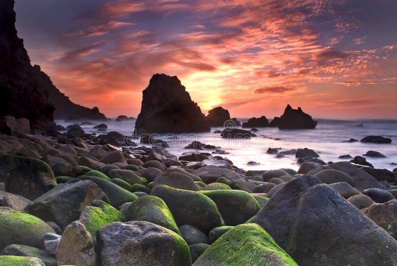 Playa de Ursa fotos de archivo