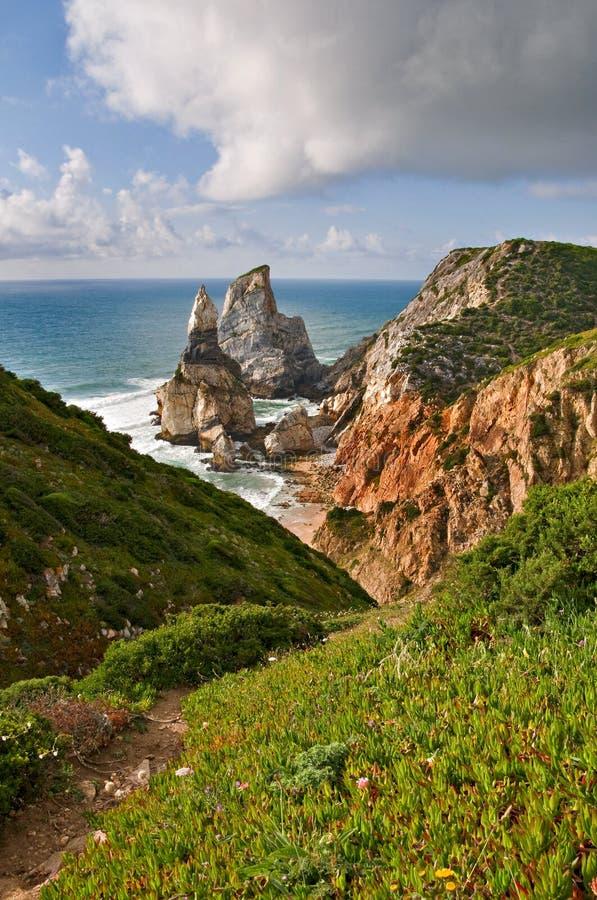 Playa de Ursa imagen de archivo
