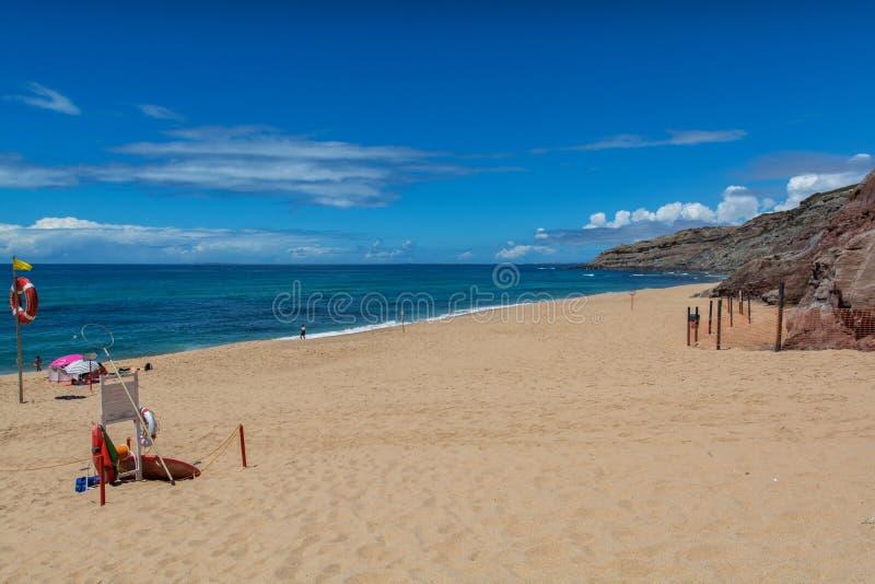 Playa de Valmitao en Lourinha, Portugal imágenes de archivo libres de regalías