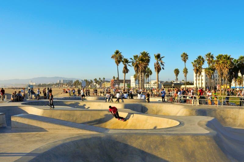 Playa de Venecia, Estados Unidos fotos de archivo