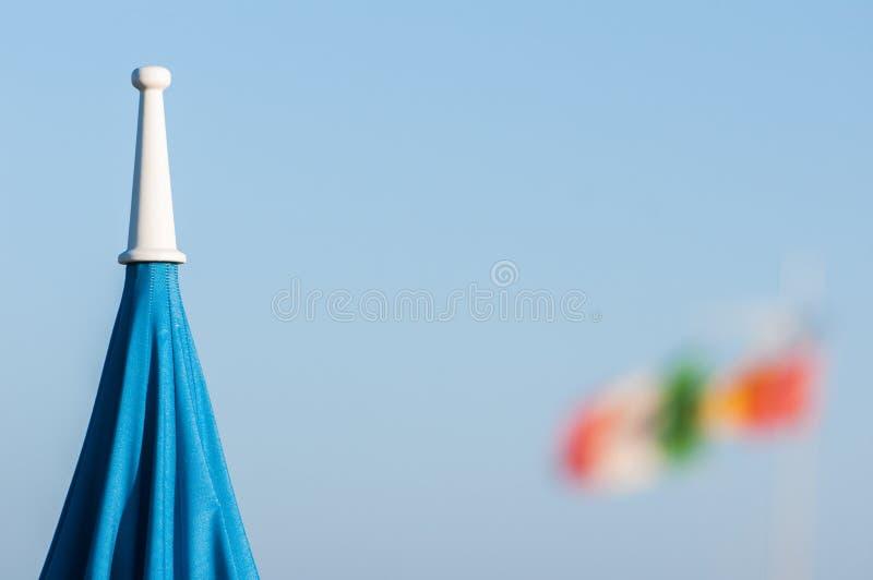 Playa de Viareggio, Italia, Toscana fotos de archivo