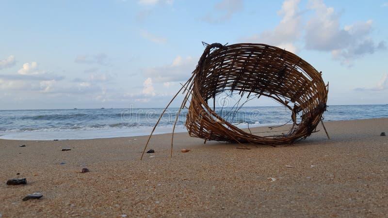 Playa de Vung Tau por la mañana fotografía de archivo