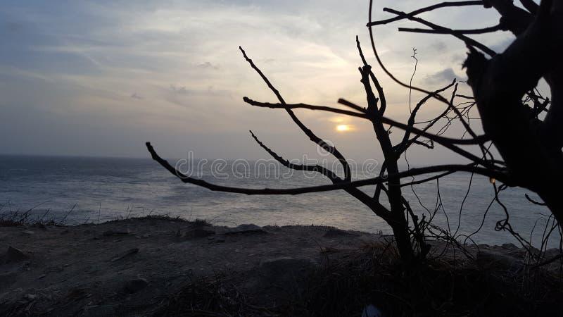 Playa de Vung Tau por la mañana foto de archivo libre de regalías
