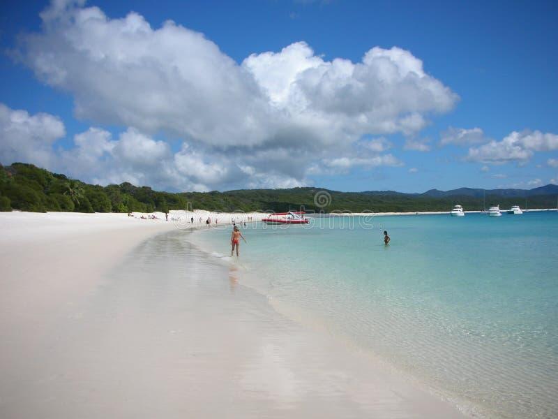 Playa de Whiteheaven fotografía de archivo libre de regalías