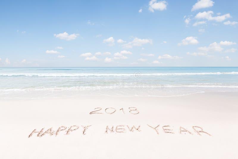 Playa del Año Nuevo imagen de archivo
