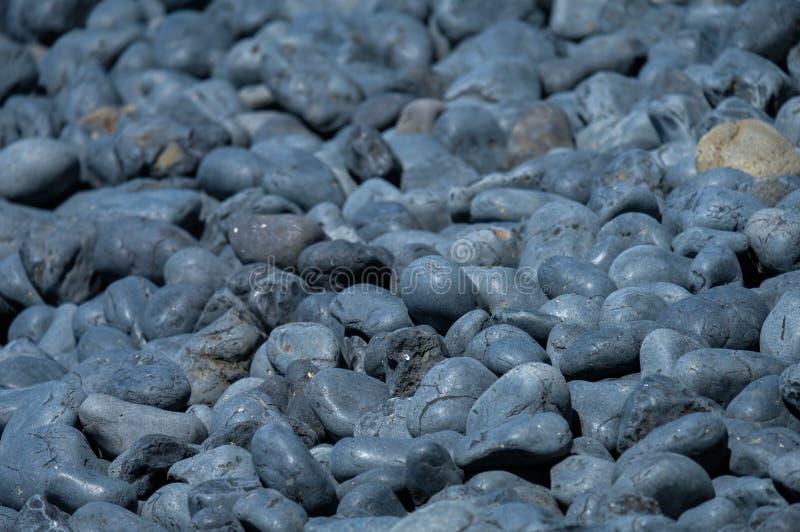 Playa del adoquín el al frente de Yaquina, Oregon, los E.E.U.U. foto de archivo