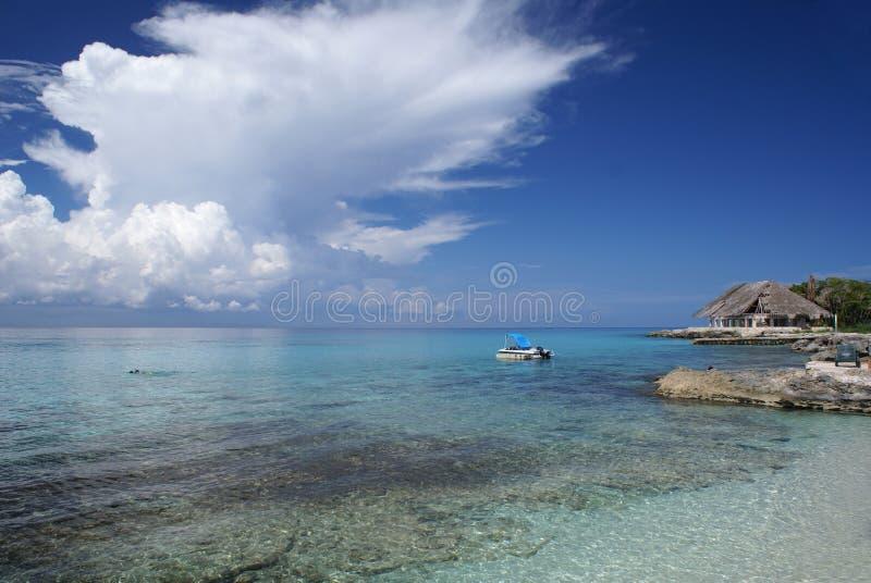 Playa del Caribe hermosa imagenes de archivo