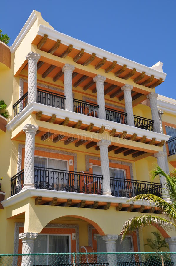 Download Playa Del Carmen stock photo. Image of architecture, mexico - 16258796