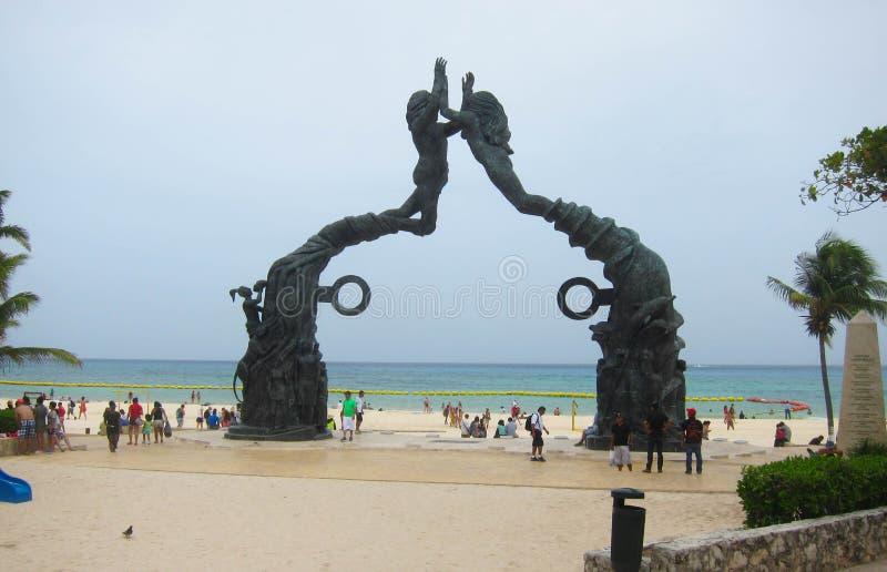 Playa del Carmen royalty free stock photo