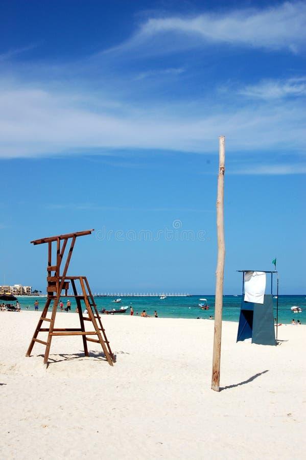 Playa del Carmen stock image