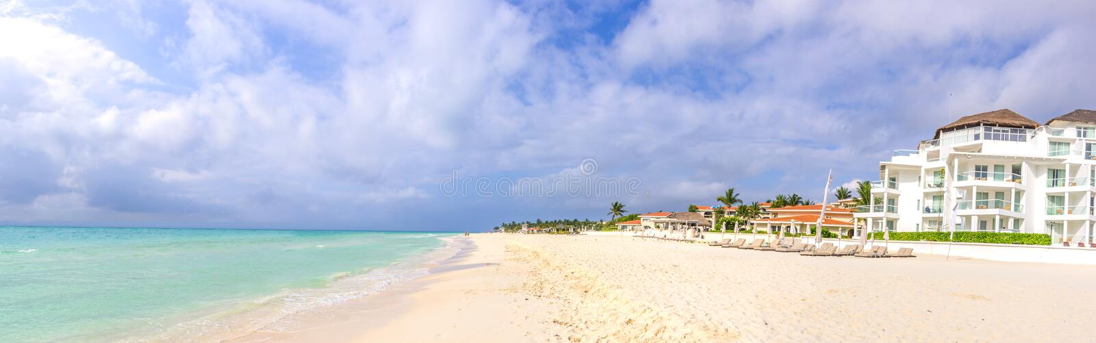 Playa del Carmen. Yucatan - Mexico stock images