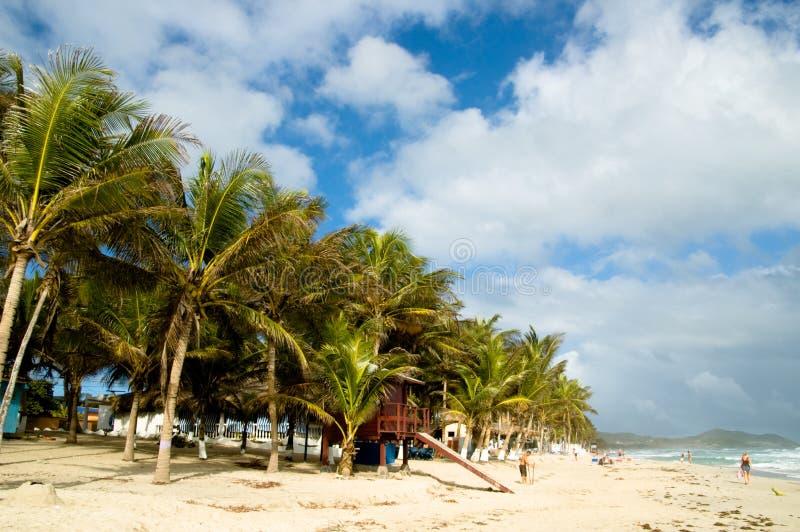 Playa del día de fiesta foto de archivo libre de regalías