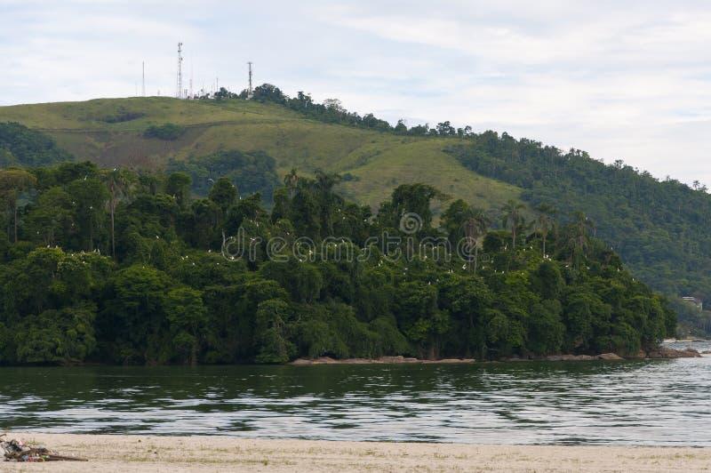 Playa del DOS Reis de Angra fotos de archivo libres de regalías