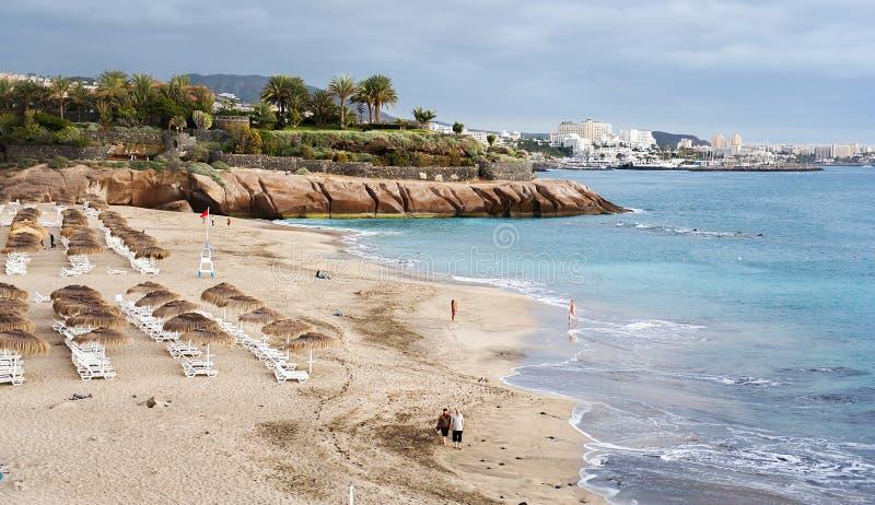 Playa del Duque, Tenerife fotografia stock libera da diritti