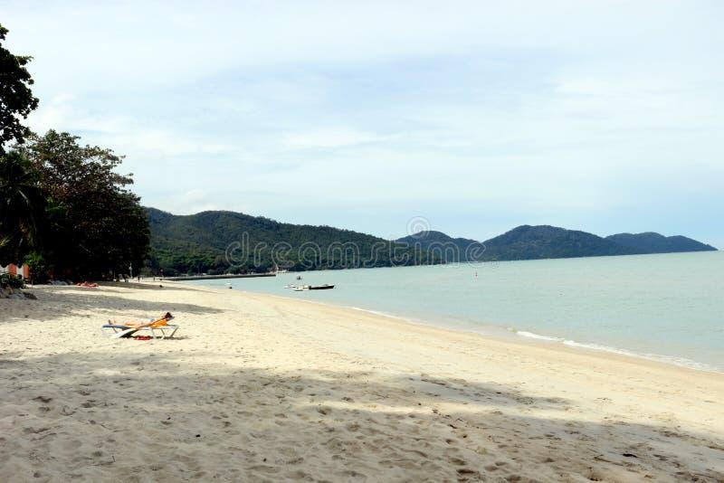 Playa del ferringhi de Batu imagen de archivo libre de regalías