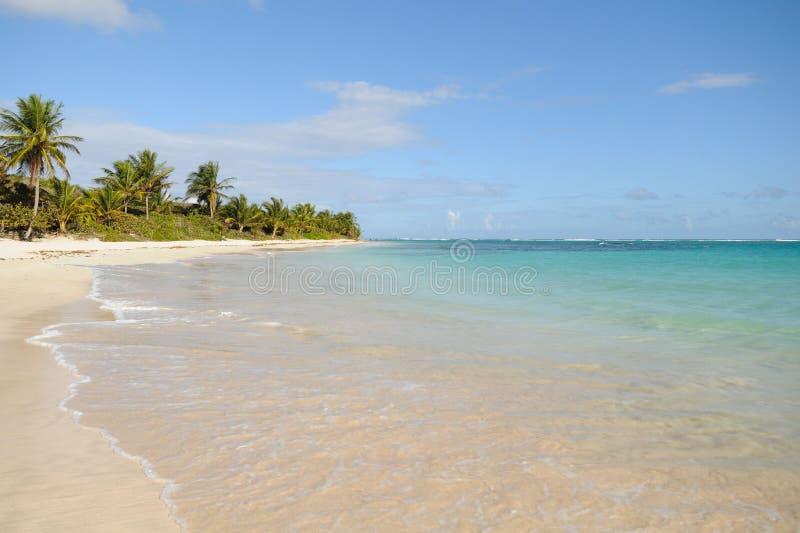 Playa del flamenco, Puerto Rico imagen de archivo libre de regalías