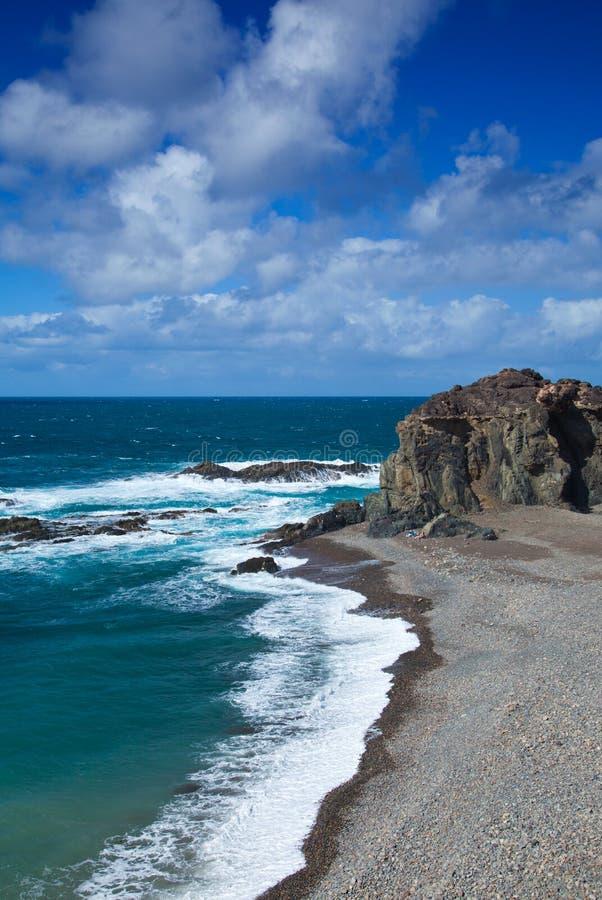 Playa Del Jurado Royalty Free Stock Photography