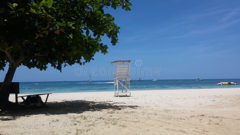 Playa del la del En fotos de archivo