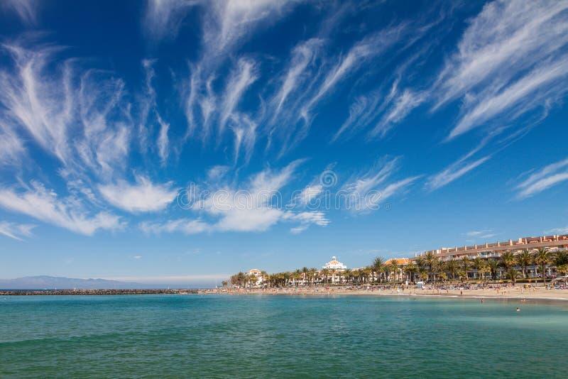 Playa del Los Christianos fotos de archivo