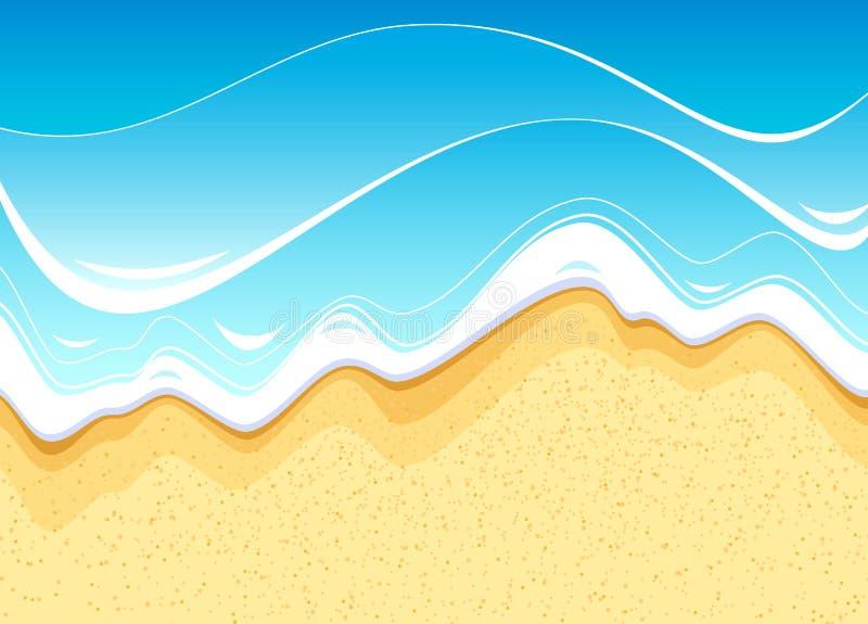 Playa del mar libre illustration