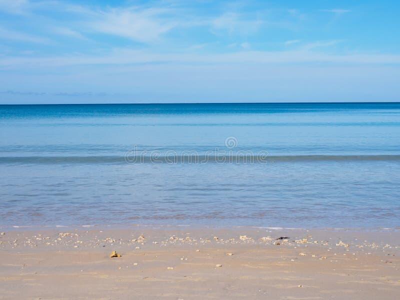 Playa del Nai Yang foto de archivo