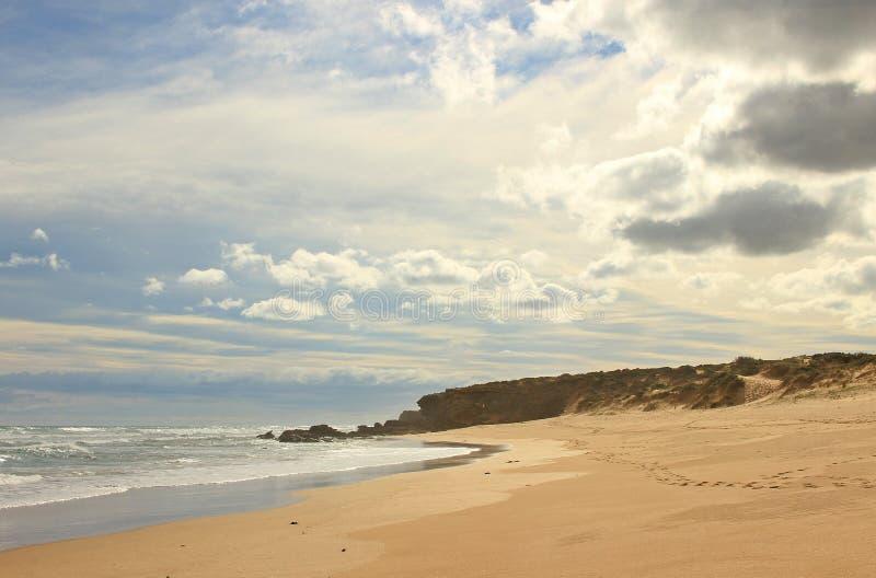 Playa del océano de Gunnamatta imagen de archivo libre de regalías