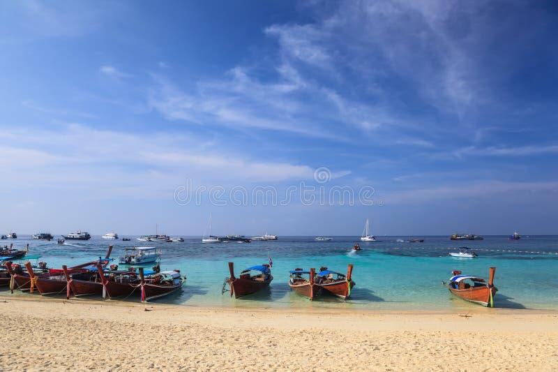 Playa del océano de Tailandia foto de archivo