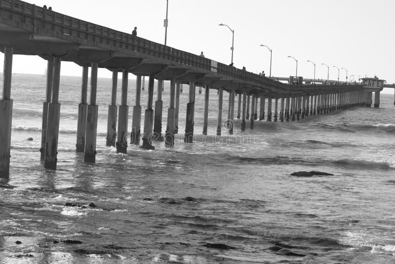 Playa del océano en San Diego fotos de archivo
