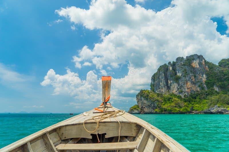 Playa del oeste de Railay en Ao Nang, Krabi Tailandia imagenes de archivo